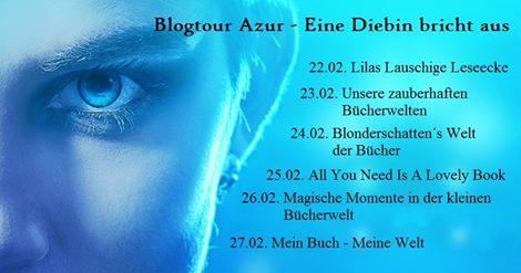 Ankündigung: Blogtour Azur
