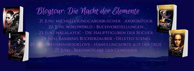 #1 Blogtour Die Nacht der Elemente