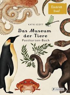 [Werbung] Das Museum der Tiere: Postkarten-Buch – Katie Scott