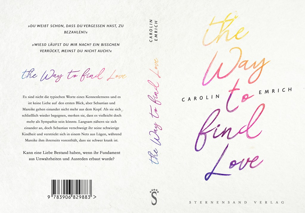 [Werbung] The Way To Find Love – Carolin Emrich
