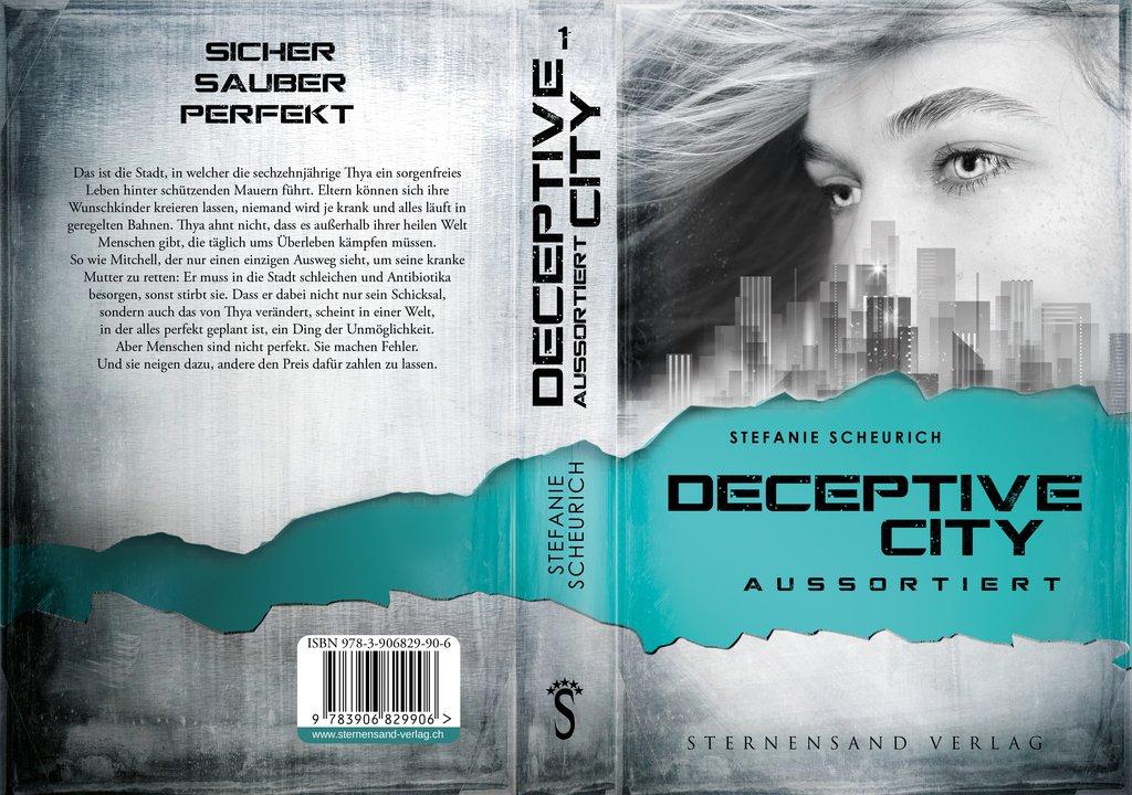[Blogtour][Werbung] Deceptive City: Aussortiert – Stefanie Scheurich