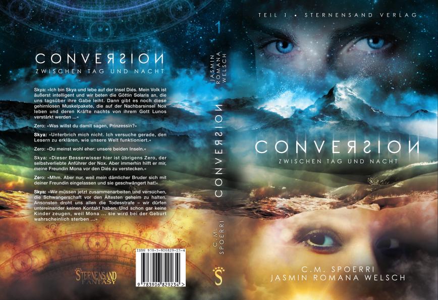 [Werbung] Conversion: Zwischen Tag und Nacht – C.M. Spoerri & Jasmin Romana Welsch