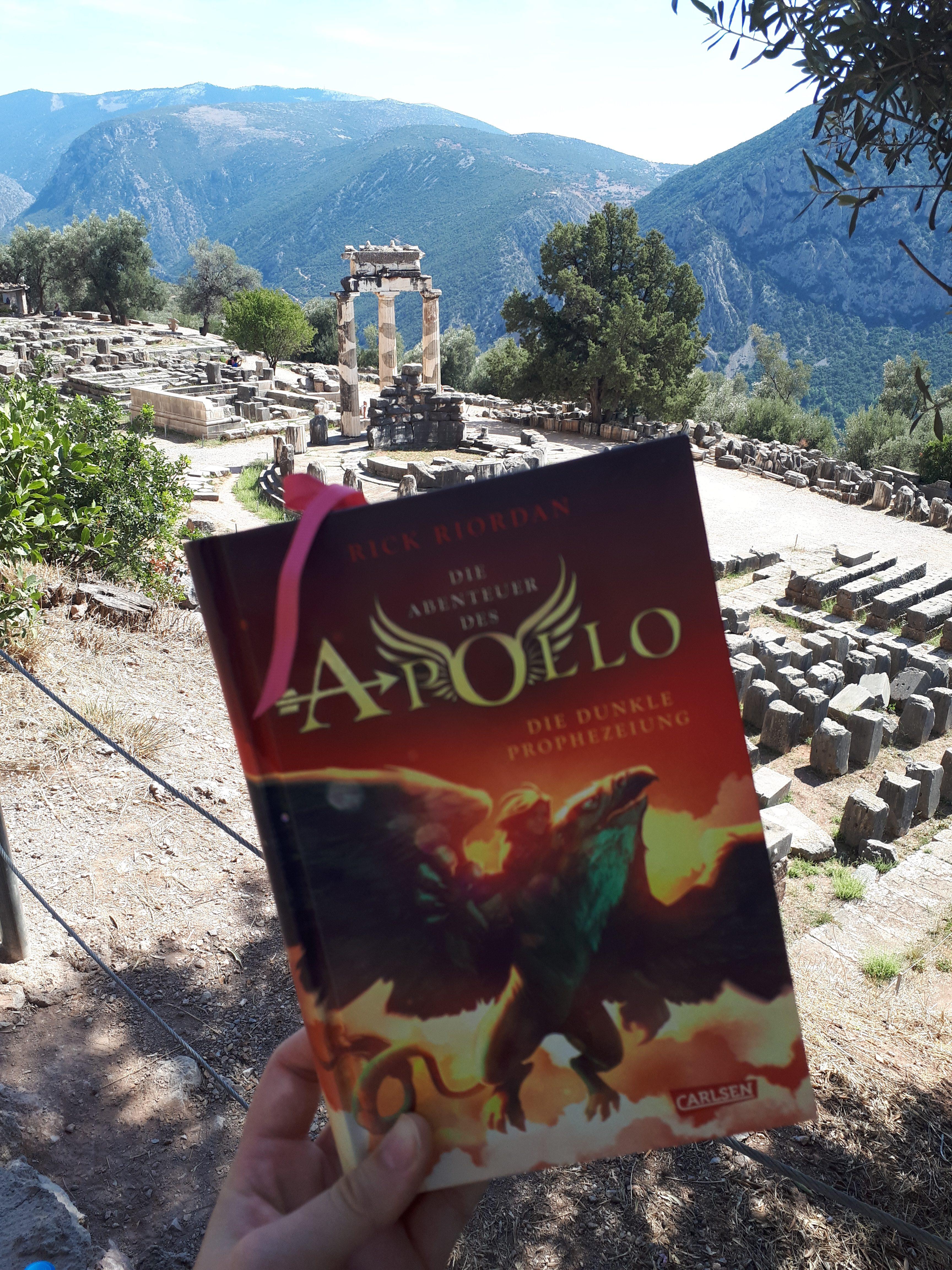 [Werbung] Die Abenteuer des Apollo: Die dunkle Prophezeiung – Rick Riordan
