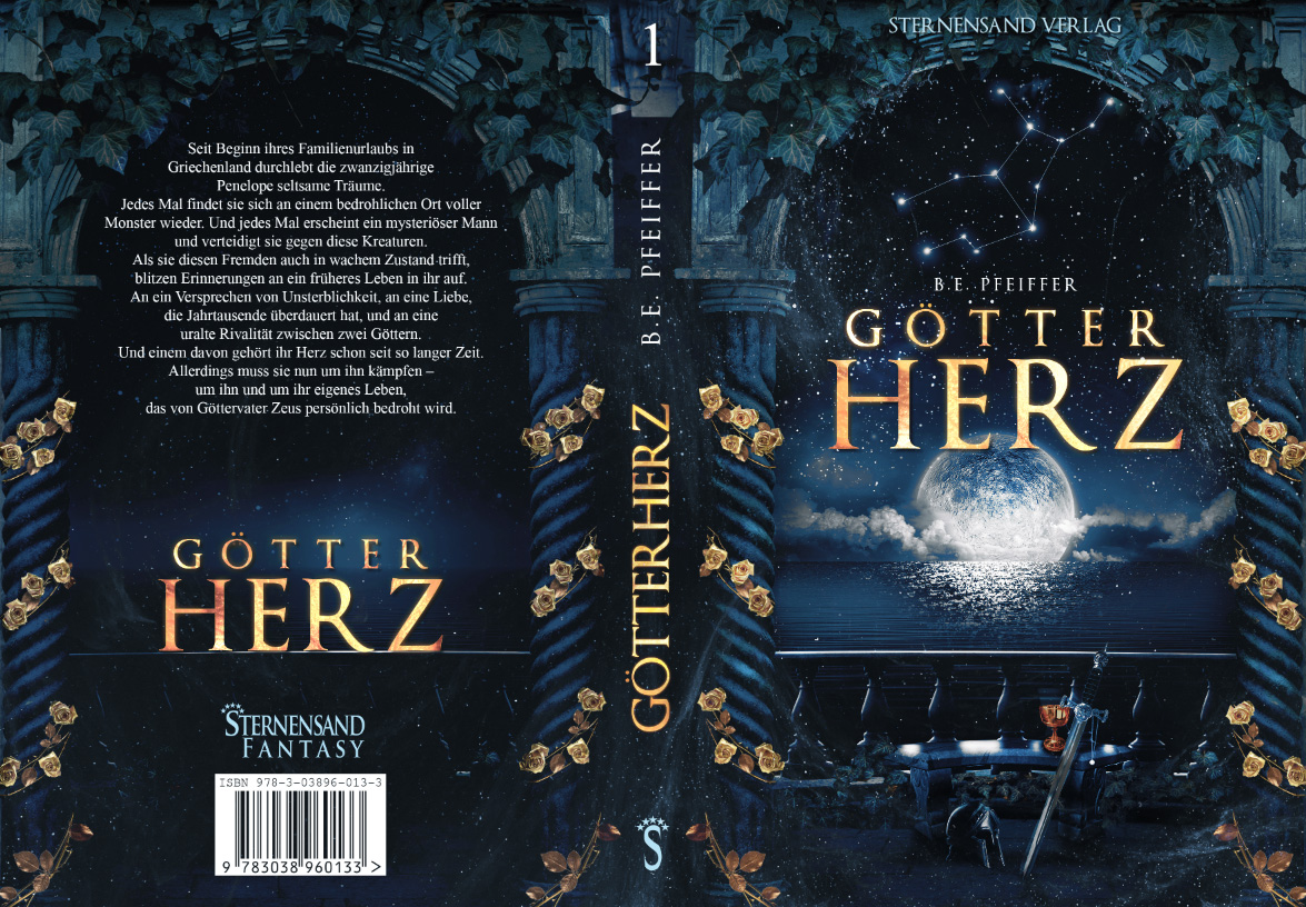 [Rezensionsexemplar] Götterherz – B. E. Pfeiffer