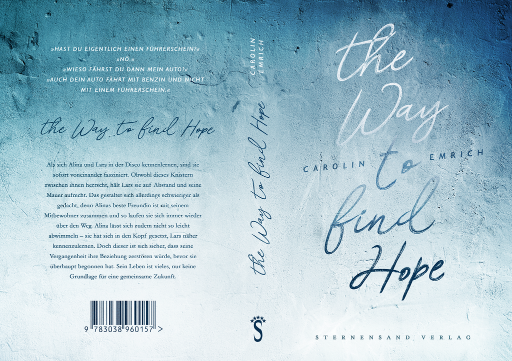 [Rezensionsexemplar]The Way To Find Hope – Carolin Emrich