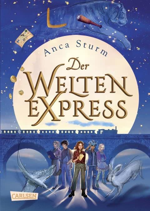 [Werbung] Der Welten-Express 1 – Anca Sturm