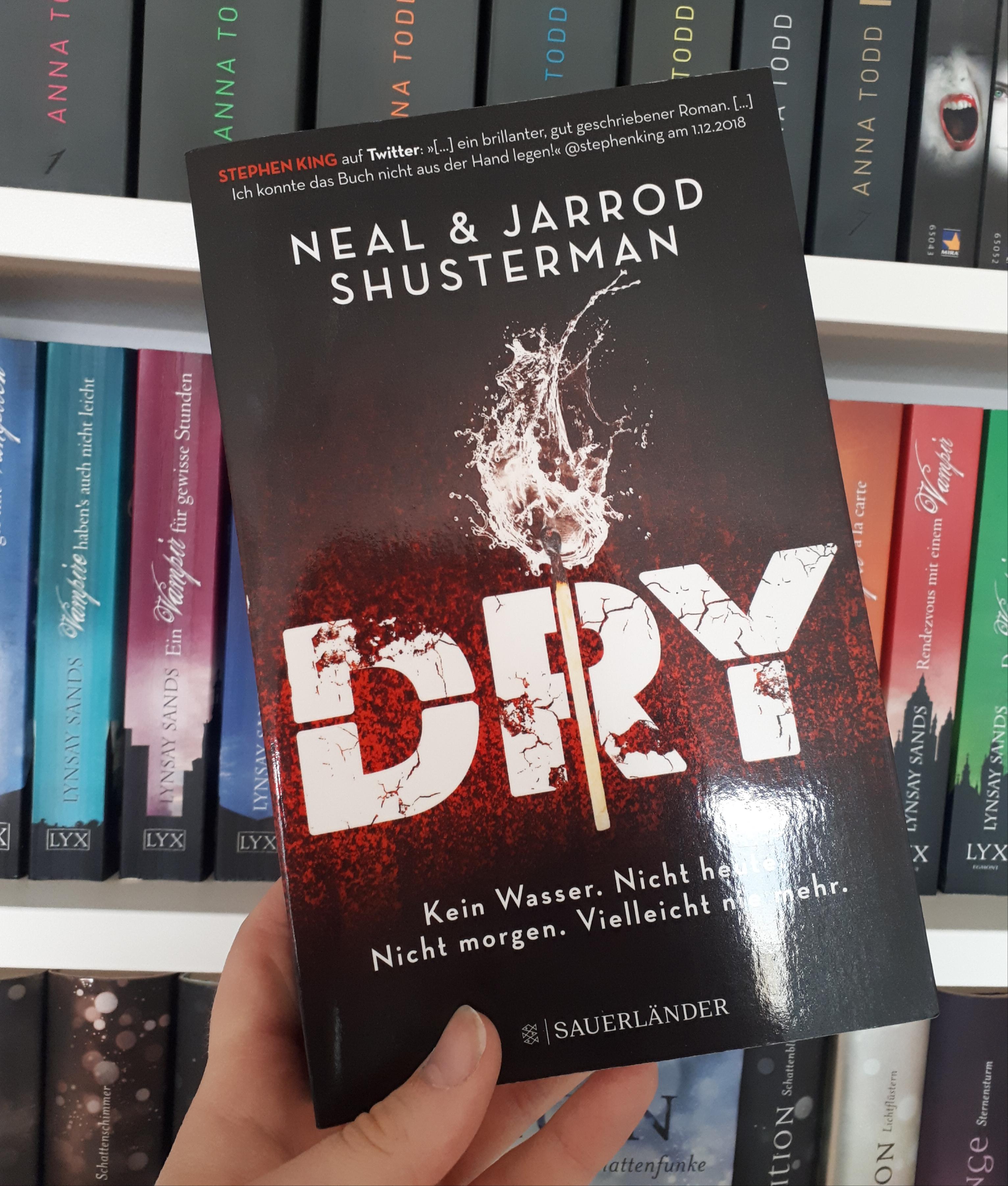 [Werbung] Dry. Neal Shusterman & Jarrod Shusterman