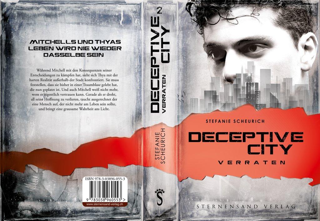 [Rezensionsexemplar] Deceptive City 2: Verraten – Stefanie Scheurich