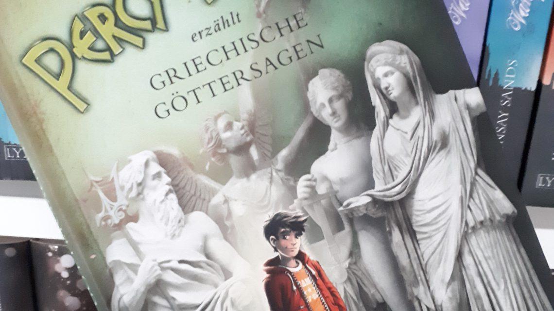 [Rezensionsexemplar] Percy Jackson erzählt griechische Göttersagen – Rick Riordan