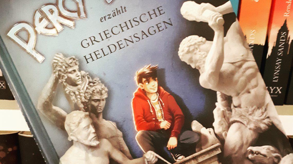 [Rezensionsexemplar] Percy Jackson erzählt griechische Heldensagen – Rick Riordan