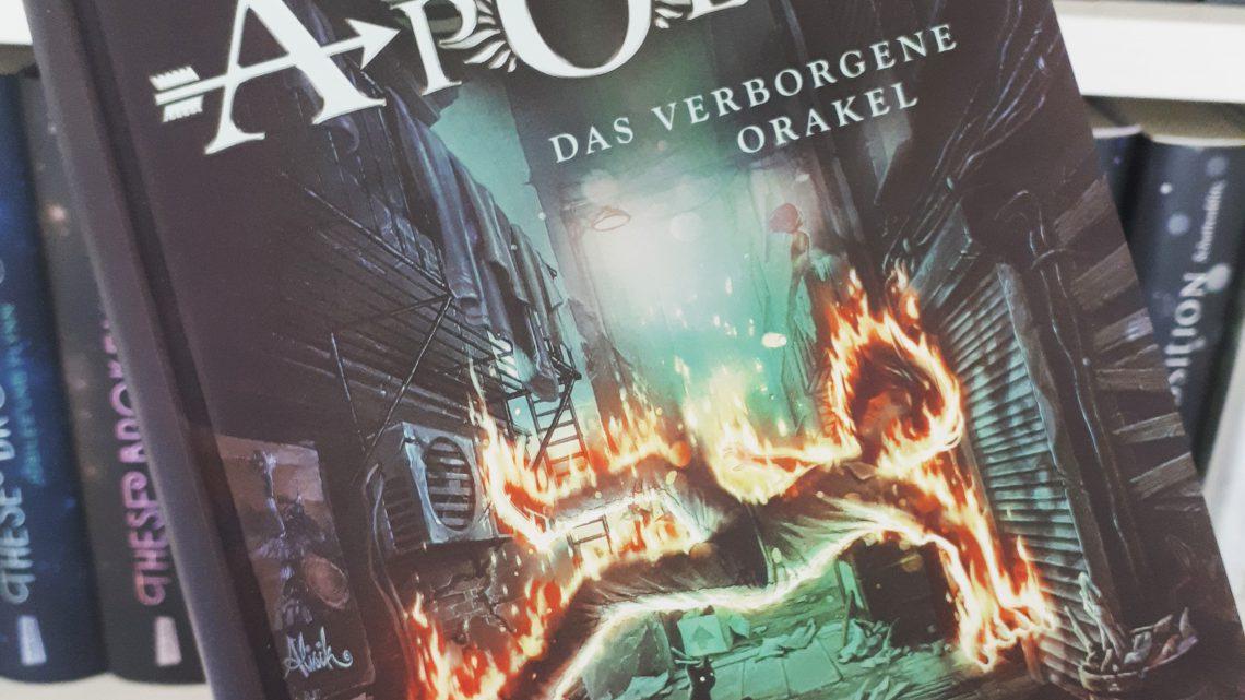 [Rezensionsexemplar] Die Abenteuer des Apollo: Das verborgene Orakel – Rick Riordan
