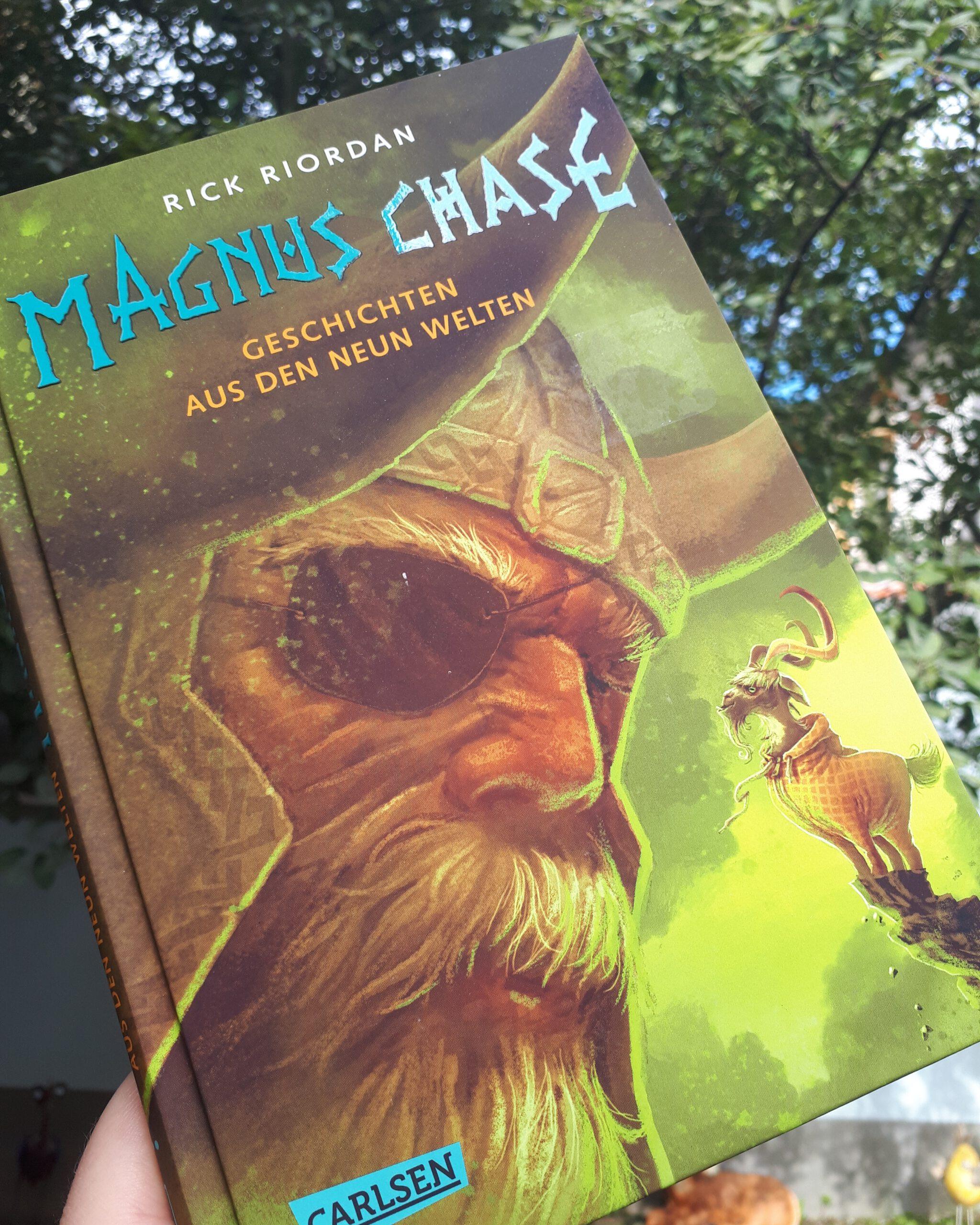 [Rezensionsexemplar] Magnus Chase: Geschichten aus den neun Welten – Rick Riordan