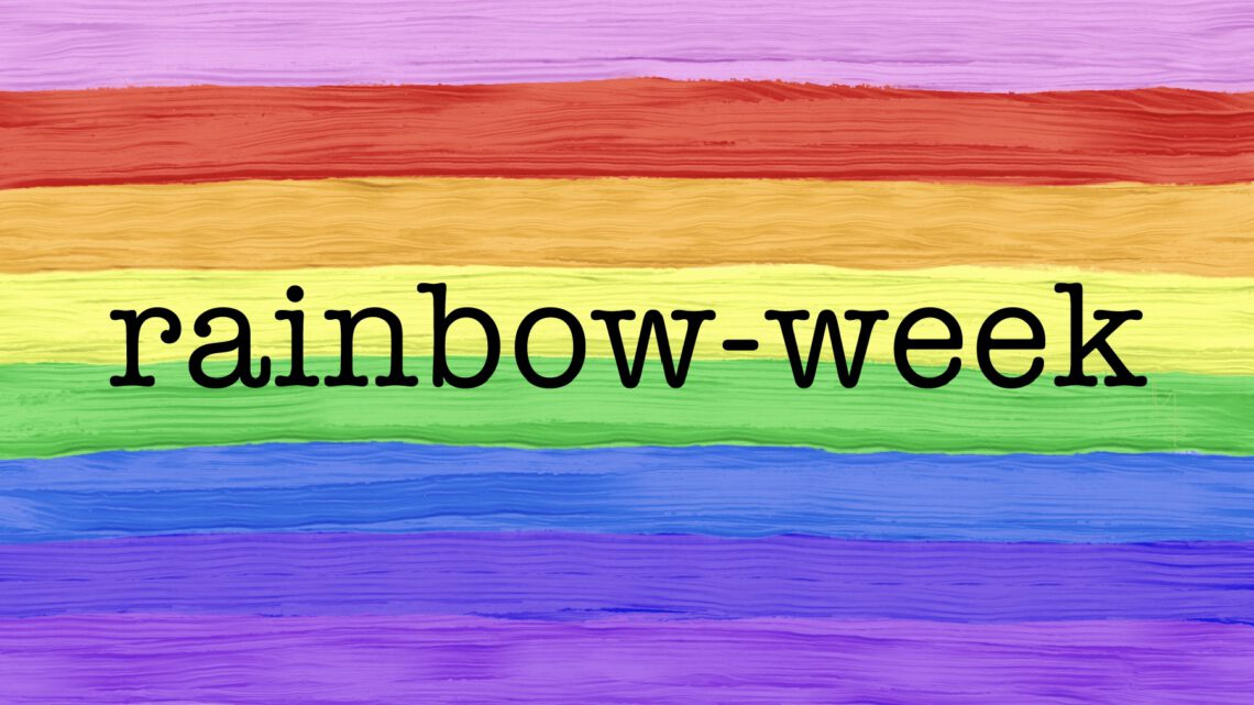 #Rainbowweek – Blau