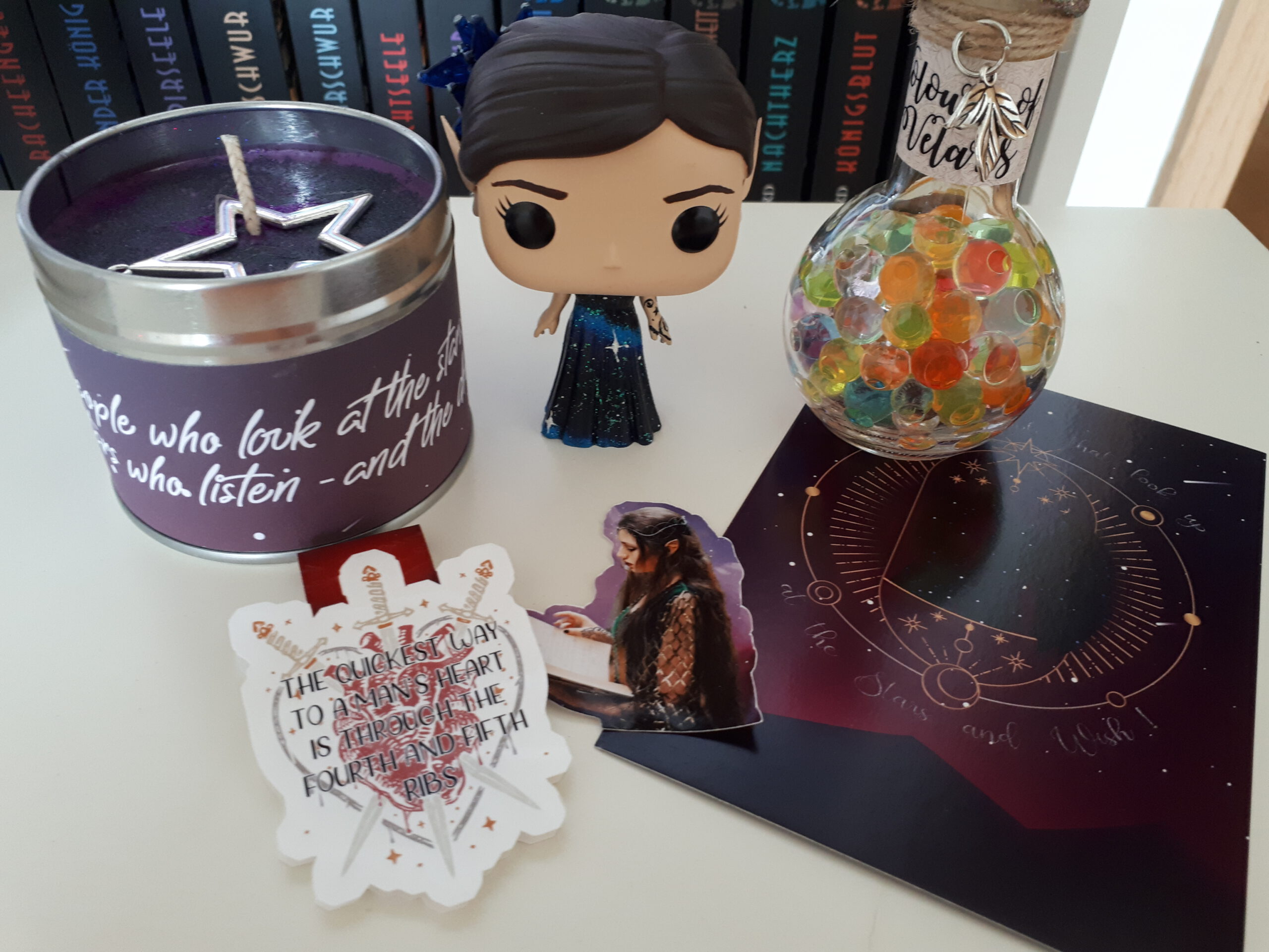 [Werbung] Unboxing ACOTAR-Box von Enchanted Books Shop