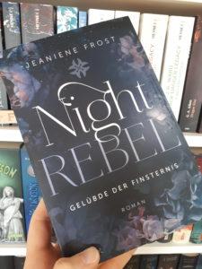 [Rezensionsexemplar] Night Rebel 3: Gelübde der Finsternis - Jeaniene Frost